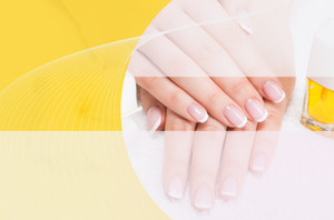 Nails / Manicures Postcards Template: 598953