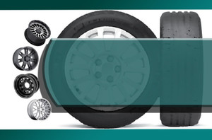 Automotive-Tires Postcards Template: 598597