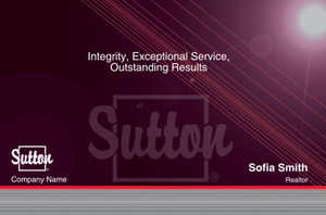 Sutton Postcards Template: 315341