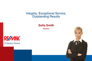 RE/MAX Postcards Template: 314950