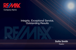 RE/MAX Postcards Template: 315319