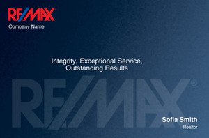 RE/MAX Postcards Template: 315320
