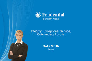 Prudential Postcards Template: 314936