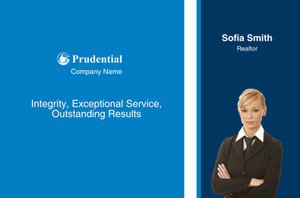 Prudential Postcards Template: 314940