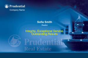 Prudential Postcards Template: 315406