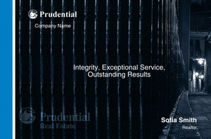 Prudential Postcards Template: 315411