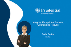Prudential Postcards Template: 314923