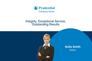 Prudential Postcards Template: 314928