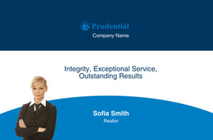 Prudential Postcards Template: 314935