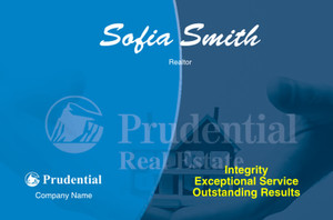 Prudential Postcards Template: 315408