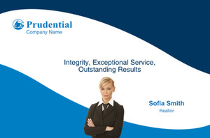 Prudential Postcards Template: 314924