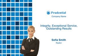 Prudential Postcards Template: 314938