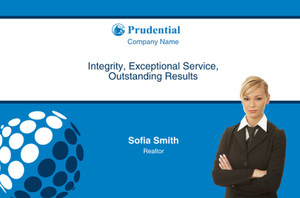 Prudential Postcards Template: 314939