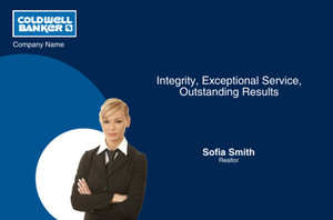 Coldwell Banker Postcards Template: 314622
