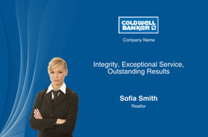 Coldwell Banker Postcards Template: 314628