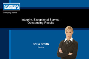 Coldwell Banker Postcards Template: 314624