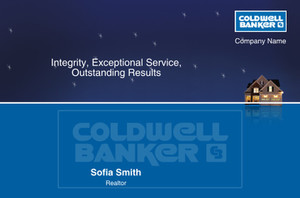 Coldwell Banker Postcards Template: 315299