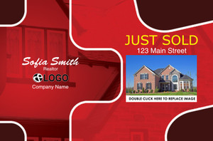 Just Sold / Listed Postcards Template: 319111