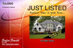Just Sold / Listed Postcards Template: 322171