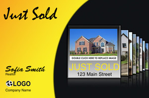 Just Sold / Listed Postcards Template: 319106