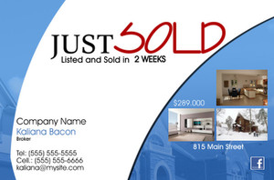 *Real Estate Postcards Template: 540061
