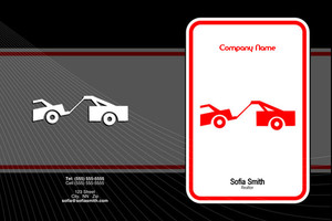 Towing Pocket Folders Template: 598391