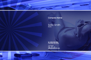 Tanning Pocket Folders Template: 598385