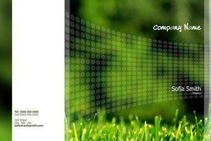 Landscaping Pocket Folders Template: 598139