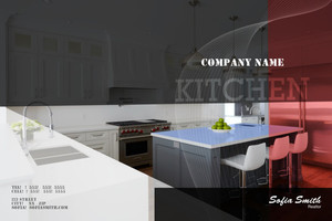 Kitchen Pocket Folders Template: 598125