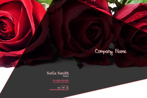 Florists Pocket Folders Template: 598017