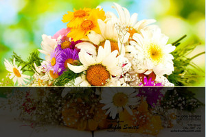 Florists Pocket Folders Template: 598033
