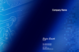 Electronics Pocket Folders Template: 597979