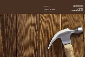 Button to customize design General Construction / Renovation Pocket Folders Template: 338845
