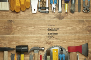 Button to customize design General Construction / Renovation Pocket Folders Template: 338861
