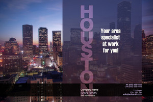 North American City Pocket Folders Template: 540695