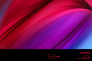 Abstract Pocket Folders Template: 321443