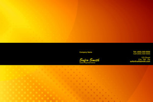 Abstract Pocket Folders Template: 321471