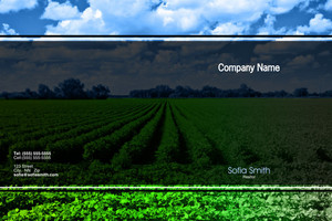 Agriculture Pocket Folders Template: 597849