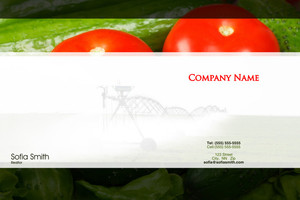 Agriculture Pocket Folders Template: 597851