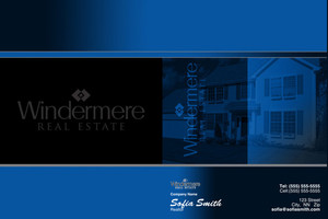 Windermere Pocket Folders Template: 526631