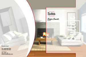 Sutton Pocket Folders Template: 500347