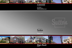Sutton Pocket Folders Template: 500317
