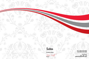 Sutton Pocket Folders Template: 500363