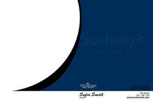 Button to customize design Sotheby Pocket Folders Template: 529785