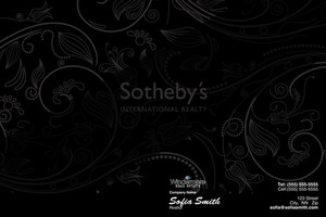 Button to customize design Sotheby Pocket Folders Template: 529745