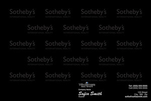 Button to customize design Sotheby Pocket Folders Template: 529761
