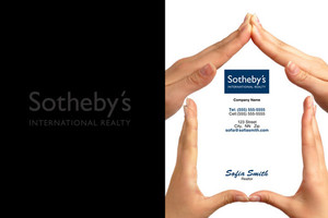 Button to customize design Sotheby Pocket Folders Template: 501985