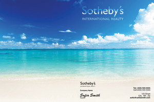 Button to customize design Sotheby Pocket Folders Template: 502005