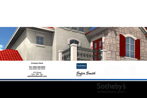 Sotheby Pocket Folders Template: 502007