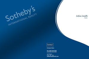 Sotheby Pocket Folders Template: 502027